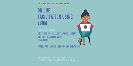 Online Facilitation Using Zoom - for EM Social Enterprises tickets