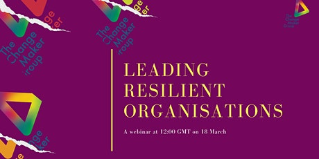Leading Resilient Organisations Tickets