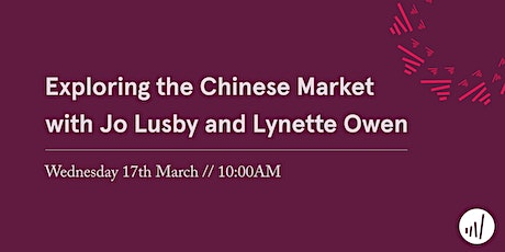 Exploring the Chinese Market tickets