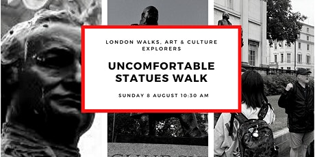 UNCOMFORTABLE STATUES WALK - small group walk with qualified London guide tickets
