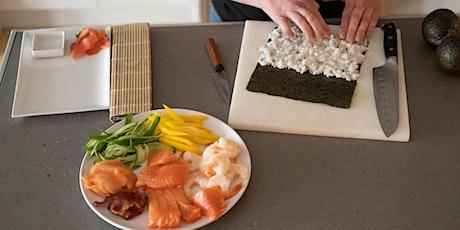Cours de sushi en famille billets
