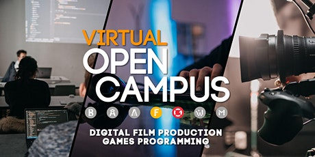 Campus Insights / Digital Film Production und Games Programming Tickets