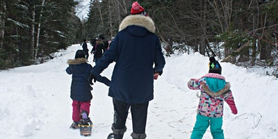 Family Snowshoeing at Beech Hill Park