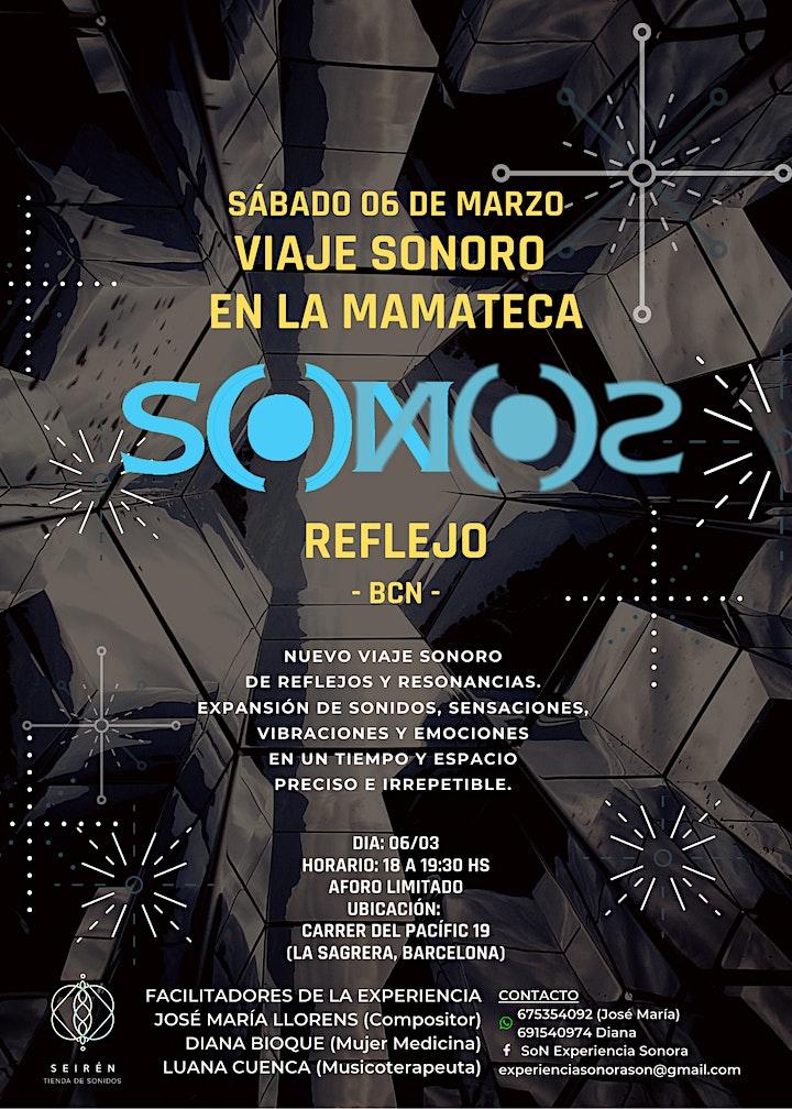 Imagen de S(o)N - Viaje Sonoro en LA MAMATECA
