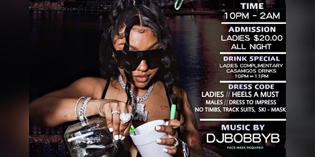 Ladies FREE Complimentary Casamigos Drinks Friday 10PM-11PM tickets