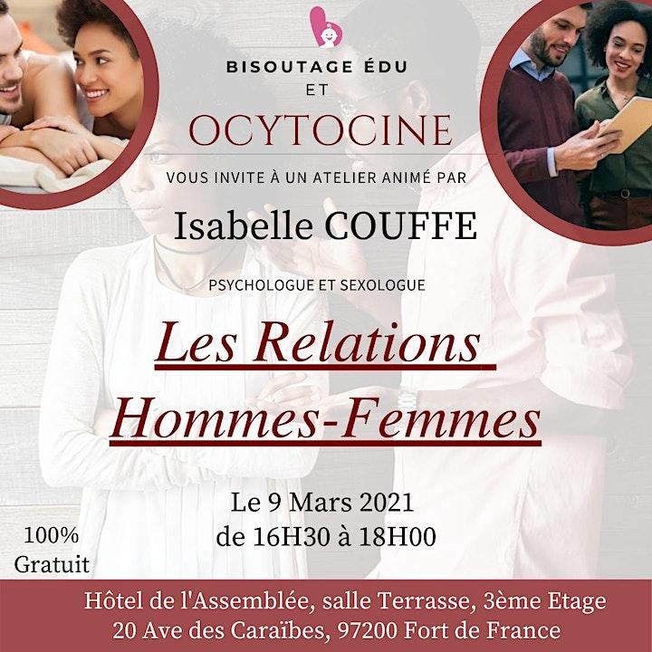 Image pour LES RELATIONS HOMMES - FEMMES