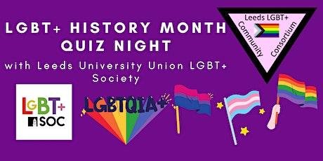 LGBT+ History Month Quiz, with LUU LGBT+ Soc tickets