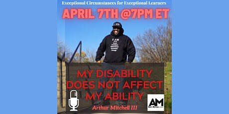 My Disability Does Not Affect My Ability tickets