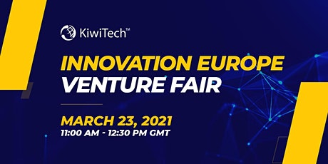 Innovation Europe Venture Fair tickets