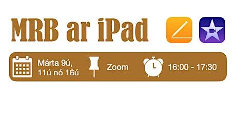 MRB ar iPad tickets