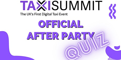 The TaxiSummit Virtual Pub Quiz tickets
