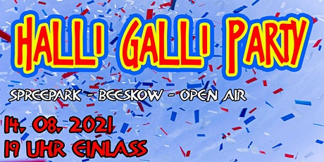 Halli-Galli-Party in Beeskow - OPEN AIR tickets