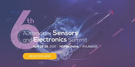 6th Automotive Sensors and Electronics Summit tickets