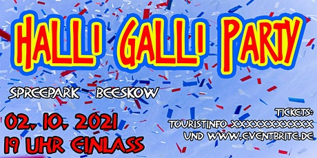 Halli-Galli-Party in Beeskow tickets