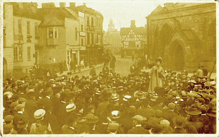 Walk of the Women – suffrage stories in Hereford image