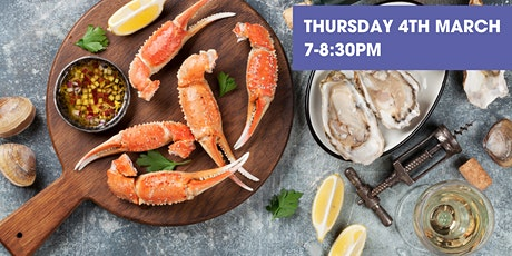 Arts Online Extra! - Classic Seafood and Wine Pairing tickets