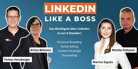 Masterclass: LinkedIn Like A Boss (Frühling Edition - 7. Mai 2021) Tickets
