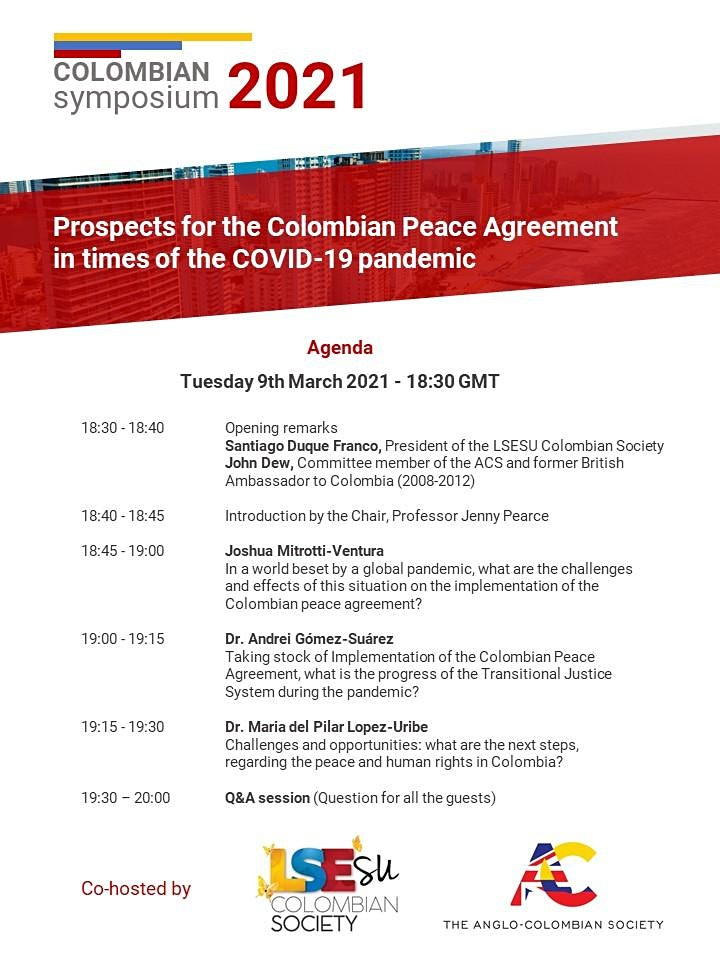 Prospects for the Peace Agreement in times of the Covid-19 pandemic image