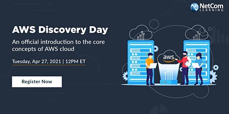 LIVE Webinar - AWS DISCOVERY DAY tickets