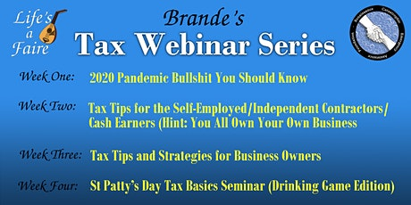 Brande's Tax Webinar Series tickets