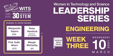 WITS Female Leadership Series 2021			  Session 3  Engineering Tickets