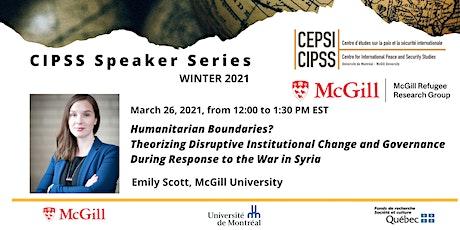Emily Scott, McGill University tickets