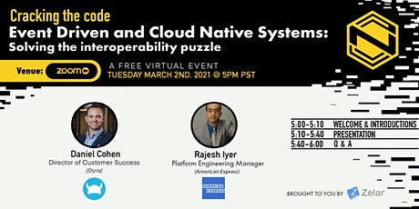 Event Driven and Cloud Native Systems: Solving the interoperability puzzle tickets