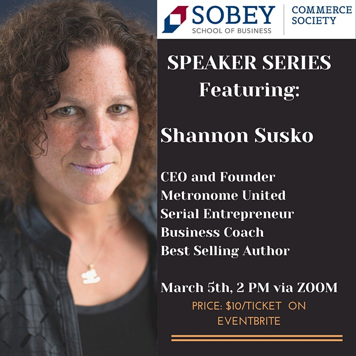 Speaker Series with Shannon Byrne Susko image