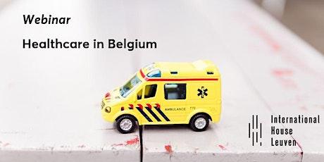 Free webinar: healthcare in Belgium tickets