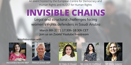 Invisible Chains: The situation of women's rights defenders in Saudi Arabia tickets