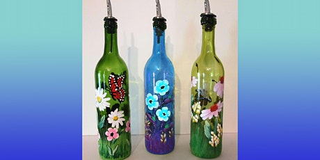 Wine Bottle Painting with Dispenser:  Sip and Paint at Magnanini Winery! tickets