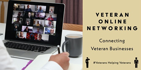 Veteran Online Networking Friday 05th March 2021 tickets