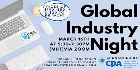 Global Industry Night tickets