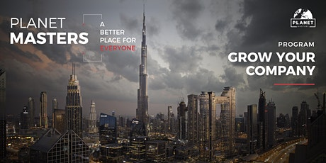 Planet Masters - Grow Your Company - International Conference bilhetes