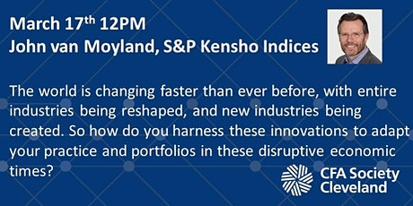 S&P Kensho Indices, John van Moyland tickets