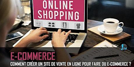 E-COMMERCE: Créer votre boutique de vente de produit en 5 jours billets