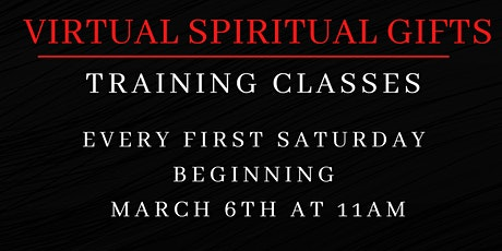 Virtual Spiritual Gifts Training  Classes tickets
