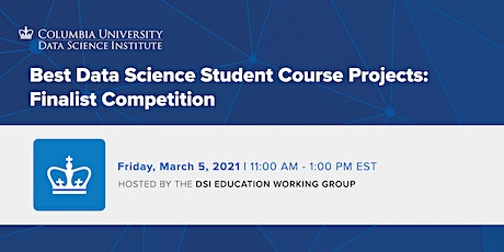 Best Data Science Student Course Projects: Finalist Competition billets