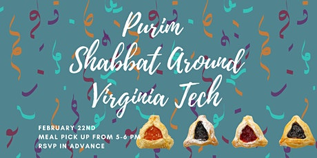 Purim Shabbat Around Virginia Tech {Meal Pick Up} tickets