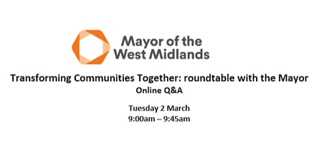 Roundtable with the Mayor: Transforming Communities Together for Sutton Col tickets