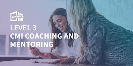 Level 3 CMI Coaching & Mentoring | West Midlands | Online Training tickets