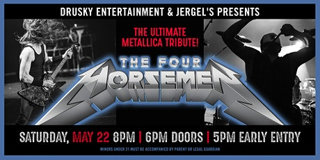 The Four Horsemen - A Tribute to Metallica tickets