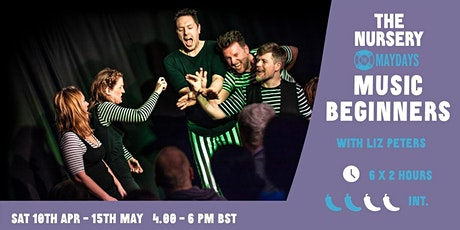 Online Beginners Musical Improv Course tickets