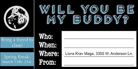 Krav Junior Buddy Week! tickets