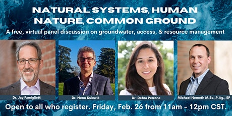 Natural Systems, Human Nature, Common Ground tickets