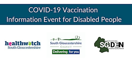 COVID-19 Vaccination Information Event for Disabled People tickets
