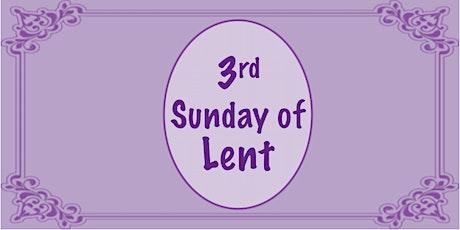 Sunday morning Mass, 9:00 tickets
