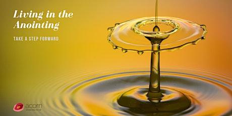 Living in the Anointing(Digital Event) bilhetes