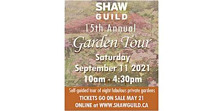 Shaw Guild Garden Tour 2021 tickets