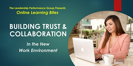 Building Trust & Collaboration (Online - Run 13) tickets